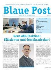 Blaue Post Nr. 11