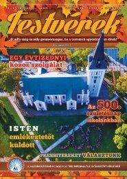 Testvérek Gyülekezeti Hírlevél 2017. szeptember-október