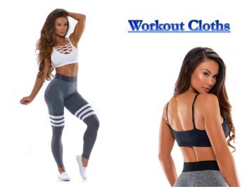 Top Workout Clothes Online at Bombshell Sportswear