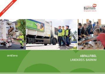 Abfallfibel des Landkreis Barnims 2018/19