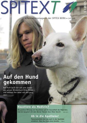 Auf den Hund gekommen - SPITEX BERN