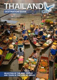 Thailand Destination Guide - CBS Travel Asia