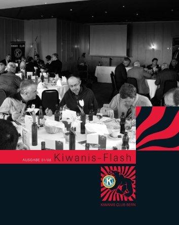 AUSGABE 01/08 Kiwanis-Flash - Kiwanis Club Bern