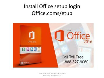 Install Office setup login Office.com/setup