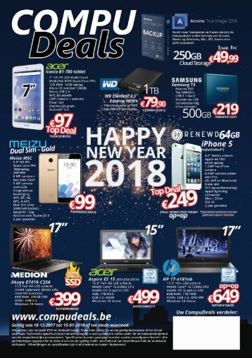 CompuDeal Happy New Year