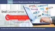 Roadrunner Email Support Number +1-888-664-3555