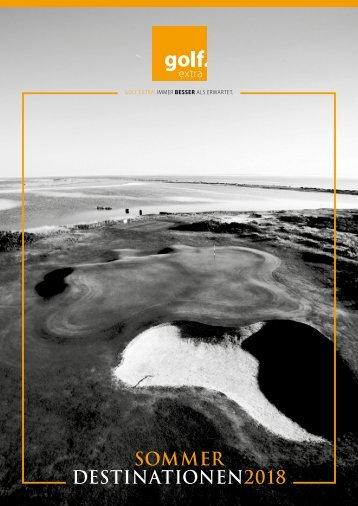 golf.extra FIT Sommerkatalog 2018