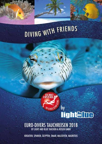 Diving with Friends - Euro-Divers by light and blue