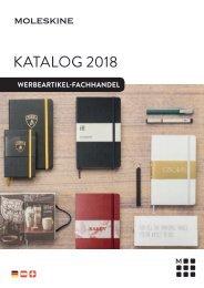 Moleskine Händler Katalog 2018