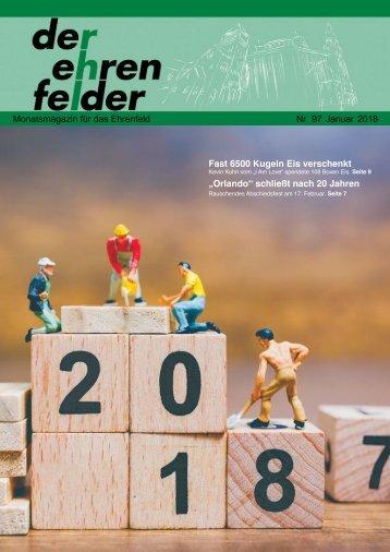 Der Ehrenfelder 97 – Januar 2018