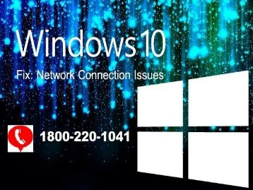 Call 18662183197 to Fix Unidentified Network in Windows 10,8,7