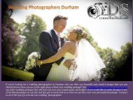 Wedding Photographers Durham