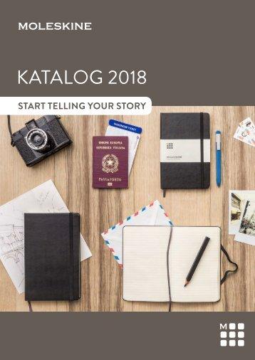 Moleskine Katalog 2018