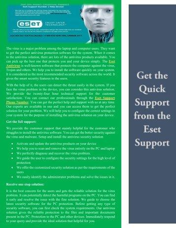 Eset Antivirus Support Number +1-855-675-4245  Eset Antivirus Technical Support USA