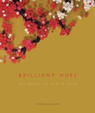 Brilliant Hues: The Power of Red & Gold