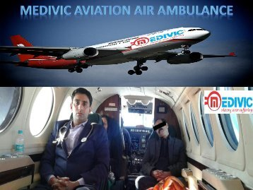 Emergency Air Ambulance Service in Kolkata at the Low-Cost with Medical Facilities