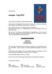 energis - Cup 2012