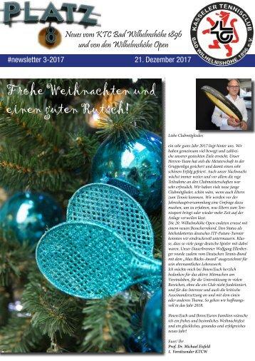 Newsletter KTCW Nr. 3-2017
