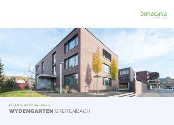 Dokumentation Eigentumswohnungen Wydengarten Breitenbach