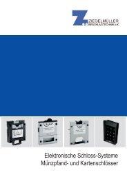 Elektronische und mechanische Schloss-Systeme