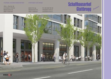 Schaffhauserhof Glattbrugg Business - belle immo ag