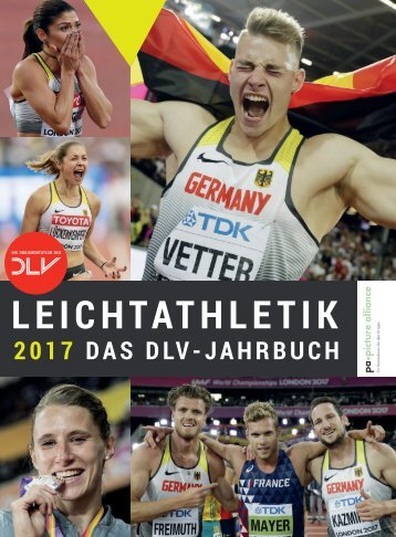 LEICHTATHLETIK: Das DLV-Jahrbuch 2017
