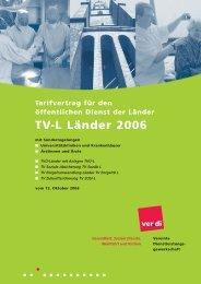 TV-L Länder 2006