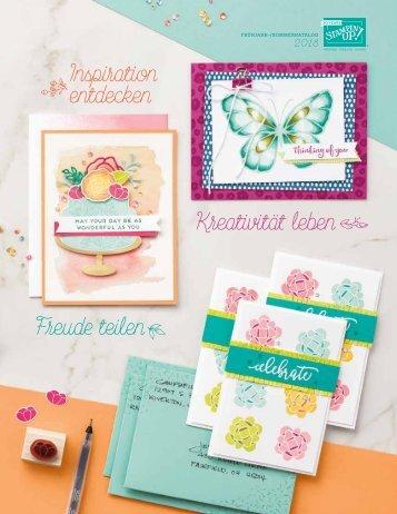 Stampin' Up! Frühjahr-Sommer-Katalog 2018