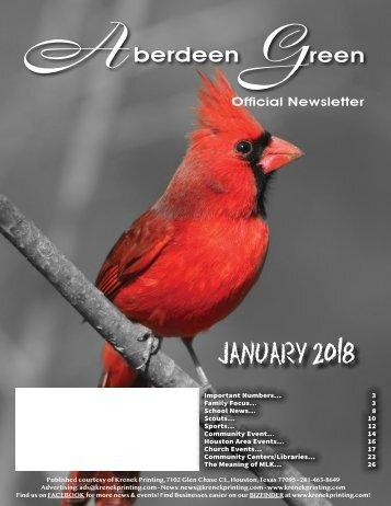 Aberdeen Green January 2018