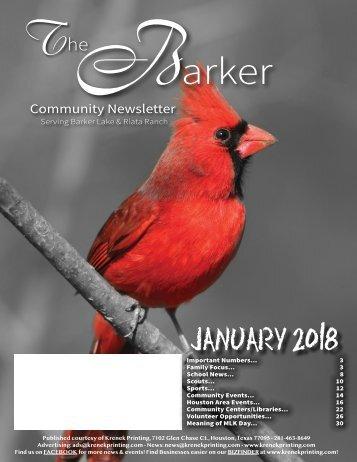 Barker January 2018