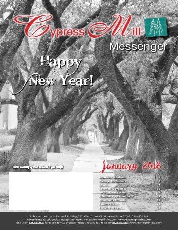 Cypress Mill January 2018