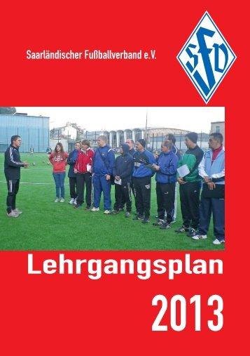 C-Lizenz Leistungsfußball - Saarländischer Fußballverband e.V.