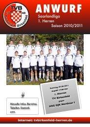 HSG DJK Nordsaar I - TV Birkenfeld Handball