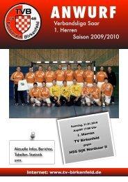 HSG DJK Nordsaar II - TV Birkenfeld Handball