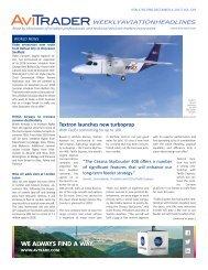 AviTrader Weekly News 2017-12-04