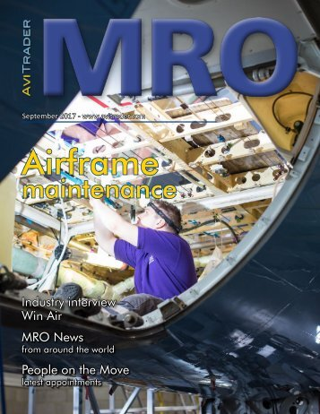AviTrader MRO Magazine 2017-09