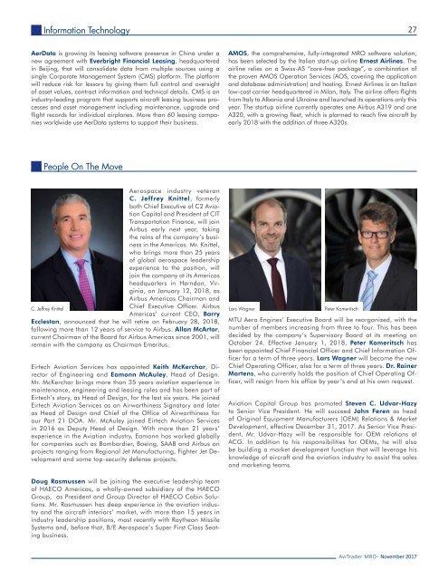 AviTrader MRO Magazine 2017-11