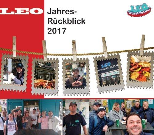 Jahresrückblick 2017 Würstelstand LEO