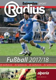Radius Fussball 2017