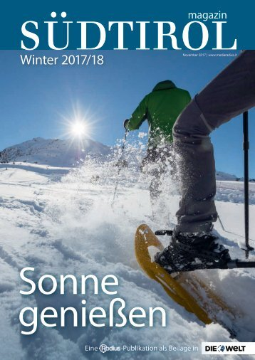 Radius Magazin Winter 17_18