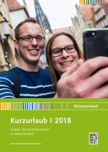 """Kurzurlaub 2018 - Urlaub """"für zwischendurch"""" im Münsterland"""