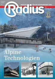 Radius Alpine Technologien 2016