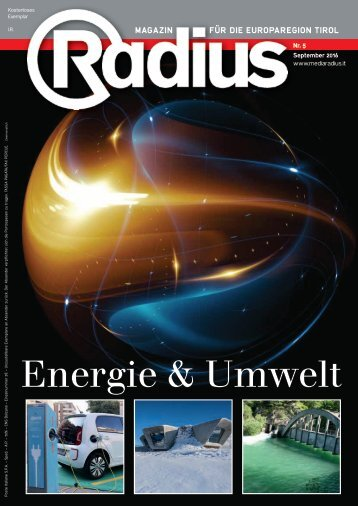 Radius Energie und Umwelt 2016