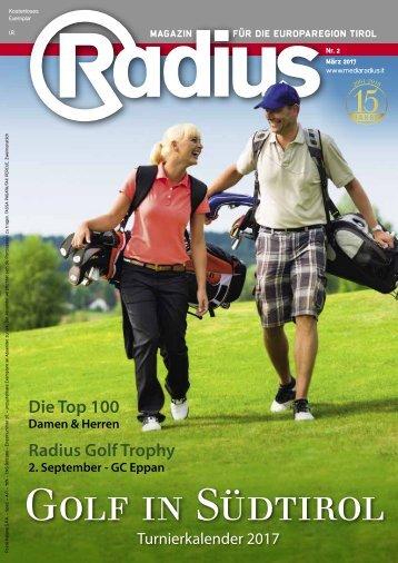 Radius Golf 2017