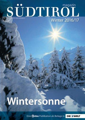 Radius Magazin Winter 16_17