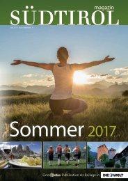 Südtirol Magazin Sommer 2017 - Die Welt