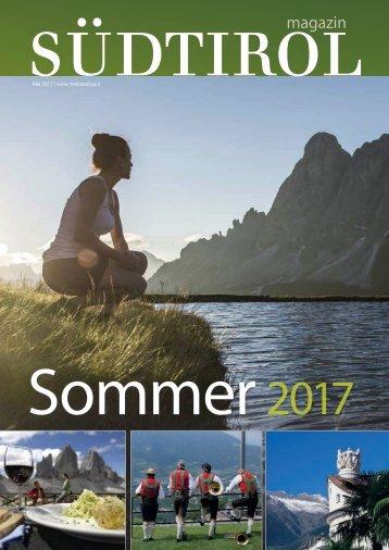 Radius Südtirol Magazin NZZ 2017
