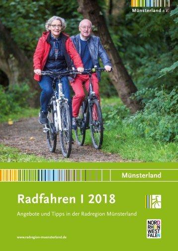 Radfahren 2018 - Angebote und Tipps in der Radregion Münsterland