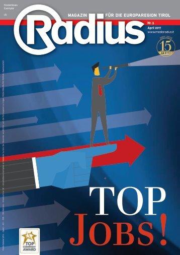 Radius Top Jobs 2017