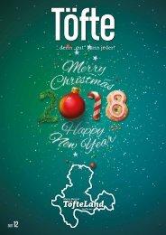 Töfte Regionsmagazin 12/2017 - Happy New Year!